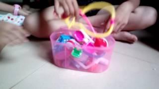 Giới thiệu những bộ đồ chơi mới mua ☺☺☺