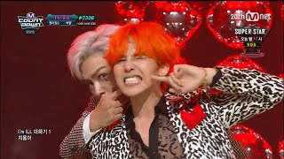 [Comeback Stage] 150820 BIGBANG (GD & T.O.P) - ZUTTER @ M! Countdown [1080p] [60fps]