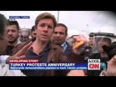 CNN Reporter Detained Live On Air