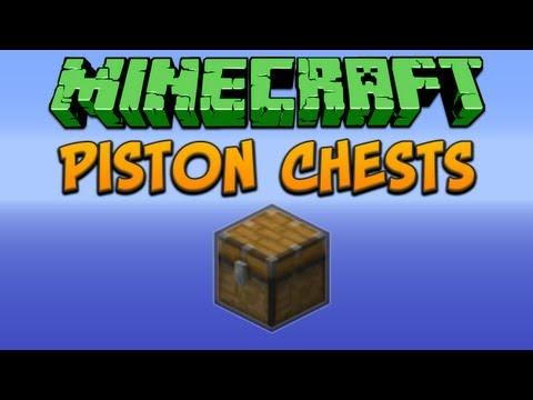 Minecraft: Piston Chests Tutorial
