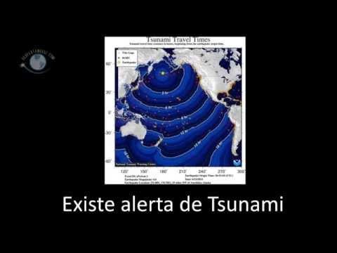 Fuerte Terremoto de 8.0 y Alerta de Tsunami en Alaska