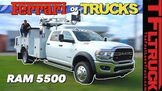 Here's Why the Ram 5500 HD Limited Is One Big Fancy Work Truck!