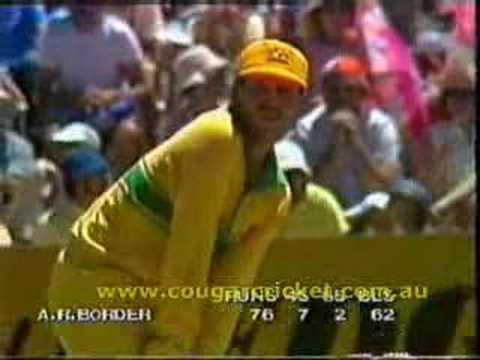 AUSTRALIA vs SRI LANKA, 1984/1985 WSC G13 AUS INN