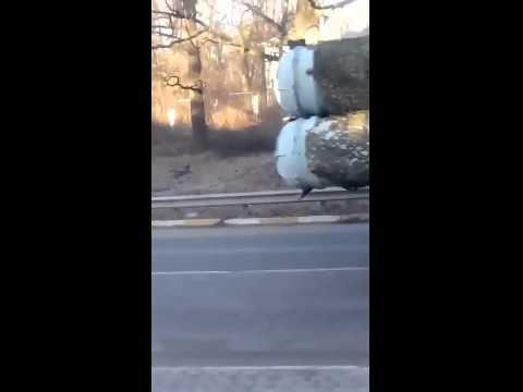 Ukraine War Ukraine S300 AA Missile launchers NATO name Grumble on the move in east