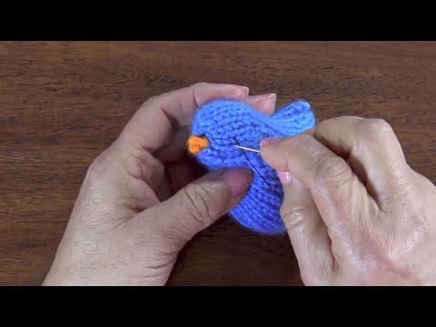 Cómo tejer pajaritos en dos agujas o palitos