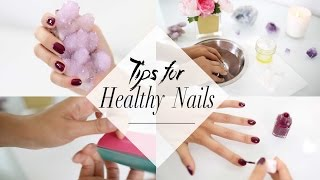 Tips for Growing Healthy Nails That You Need To Know | ANNEORSHINE