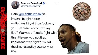 WOW!! TERENCE CRAWFORD HUMILIATES KEITH THURMAN!!