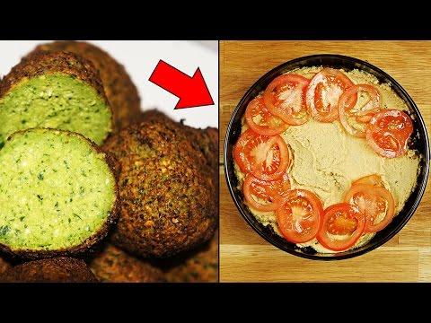 Veganer Trick mit Falafel!