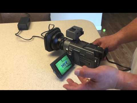 Sony DSR-PD100 demonstration for auction