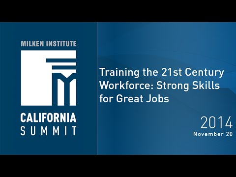 Training the 21st Century Workforce: Strong Skills for Great Jobs