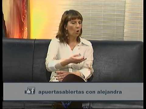Lic Carolina Goldman en A Puertas Abiertas 30-08-14 Bloque 1