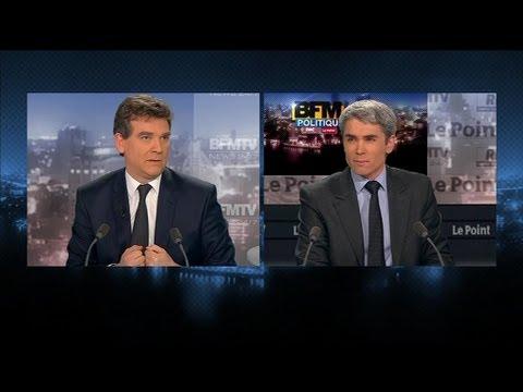 BFM Politique: le reportage sur Arnaud Montebourg par Damien Fleurot - 24/03