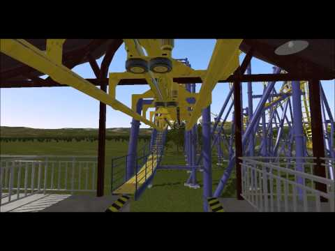 Batman POV Six Flags Mexico - Vekoma SLC On-Ride Nolimits 2