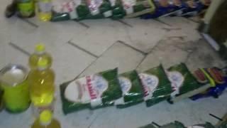 سلل غذائية مقدمة من نساء دار مشتات جلسة ختم القرآن في مركز الإيمان لاهالي الغوطة الشرقية المحاصرة 6.7 MB