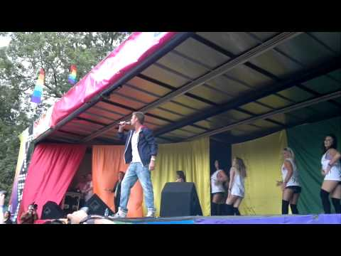 Basshunter now you're gone Hull Pride 2012