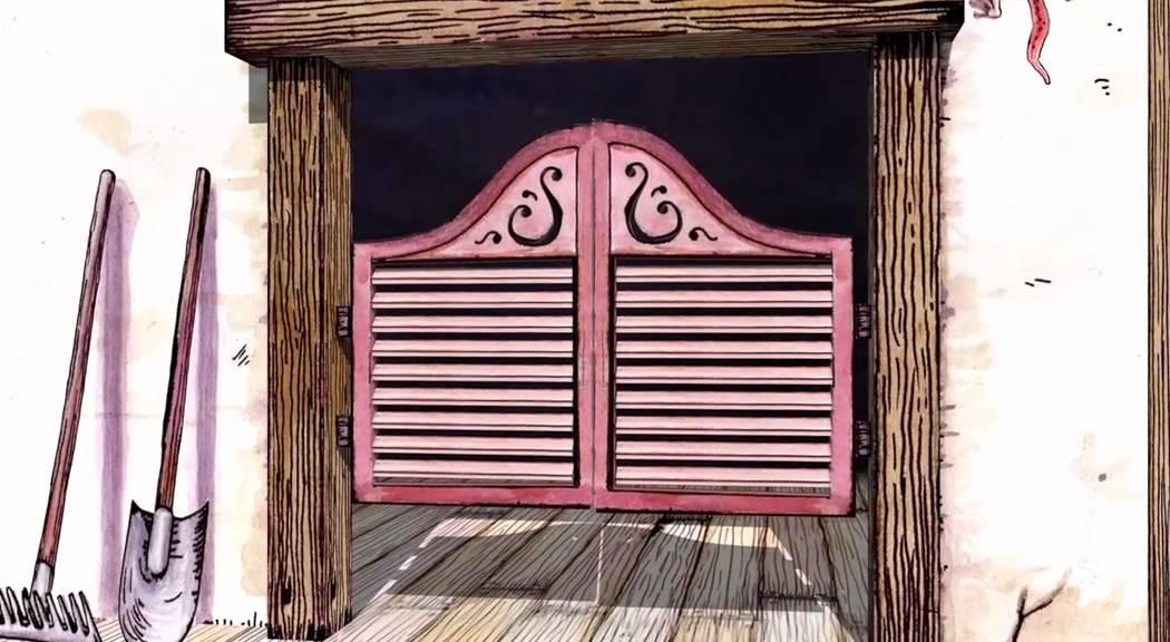 Animated Swinging Door : Bilbary saloon doors youtube
