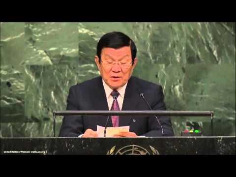 UN Speeches: Vietnamese President Truong Tan Sang
