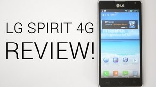 LG Spirit 4G Review