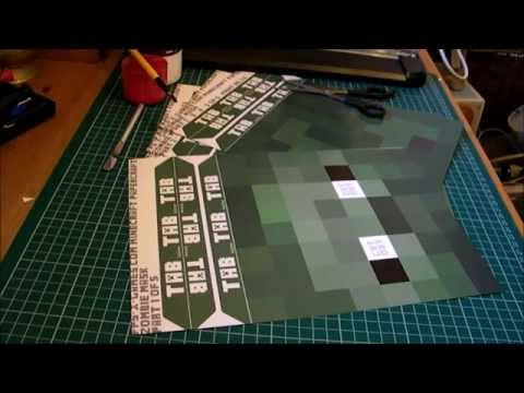 How to Make a Minecraft Mask