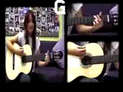 Kt Tunstall Teaches You How To Play Suddenly I See video