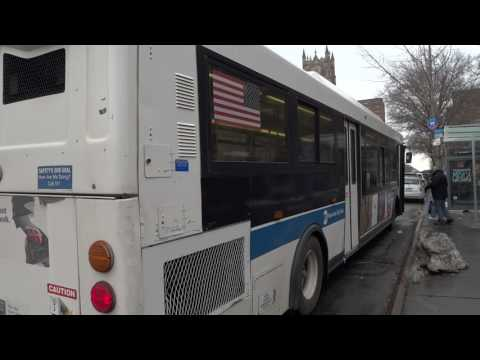 MTA New York City Bus: Orion 07.501 OG CNG #7569 Bx6 @ W. 155th Street & Broadway!