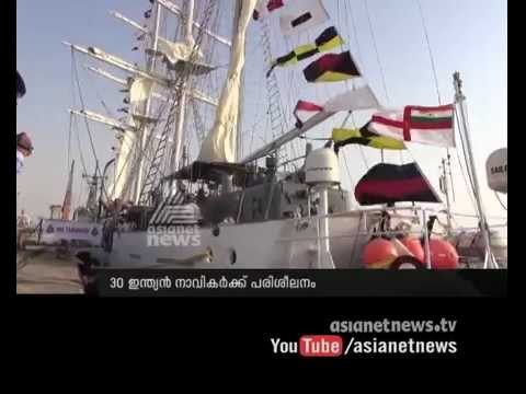 INS Tarangini  reach Jeddah port :Asianet Gulf News