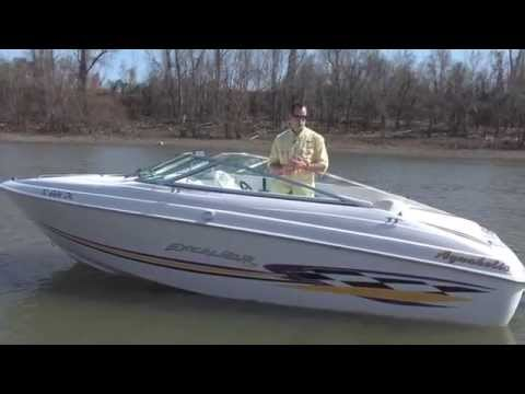 1999 Wellcraft Excalibur w/ Mercruiser 5.7 V8 on a tandem trailer