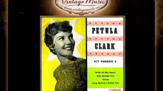 Watch Petula Clark Alone video