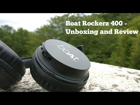 Boat rockerz 400 - Best Budget headphones? | Unboxing and Review