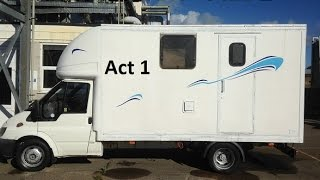 Ford Transit Luton To Motorhome Conversion Act 1