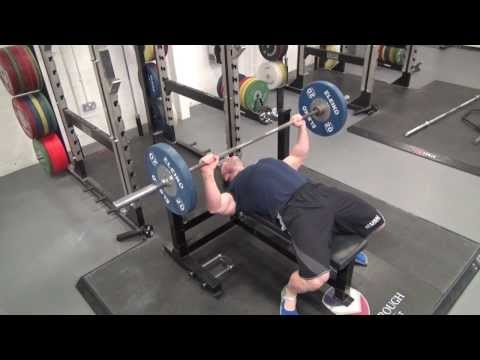 USN: How to do a Powerlifting Bench Press Image 1