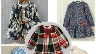 Top style winter dress baby frock stylish design beautiful top jhbla frock one idea