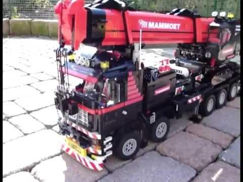 Lego Crane Truck Lego Crane Truck Mammoet