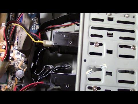 Как подключить жесткий диск.
