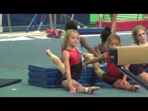 Whitney - USA Gymnastics TOPS Training 2014
