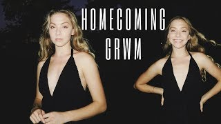 get ready with me for homecoming