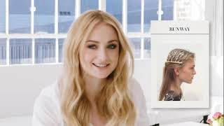 Sansa plays guess Game of Thrones hair/Sophie Turner funny