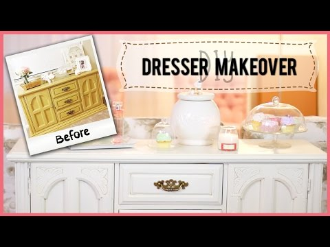 DIY: Furniture Makeover w/ Chalk Paint! | ilikeweylie