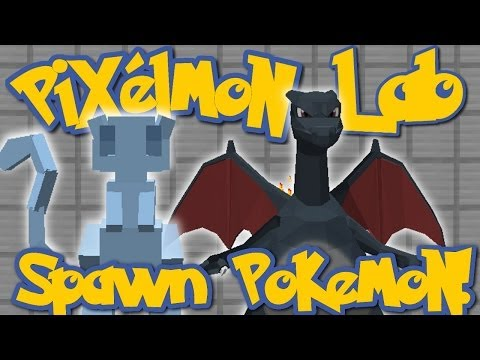 Pixelmon Lab: How To Spawn Pokemon and Shiny Pokemon! (Minecraft Pokemon Mod)