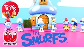 Smurfs The Lost Village | Fun Flower Adventure | Smurfs Toy Play | Toy Store | Toys For Kids