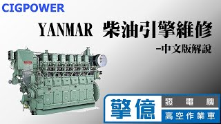 YANMAR 柴油引擎大修(Engine Overhaul for Yanmar)