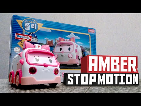 Making Amber - Stop motion | Robocar Poli Special