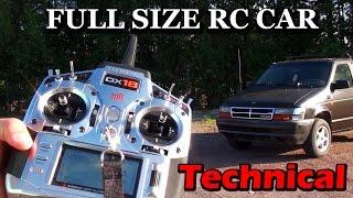 Full size RC Car Technical