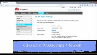 How To Change Huawei Mobile Wifi e5372s Password