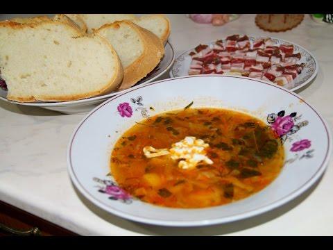 Борщ. Украинский борщ, Борщ с мясом