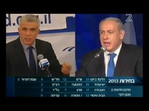 Israel Votes 2013: The Winners on Split Screen