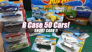 Hot Wheels 2019 B Case UnBoxing - So Many Nissan Skyline GT R - SHORT CARD unboxing Video