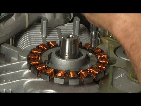 Stator Replacement (part #237878-S) - Kohler Small Engine Repair