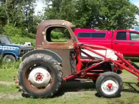 ford 8n tractor homemade cab.wmv