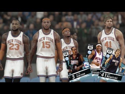 NBA 2K17 MyTEAM Online - Diamond AI & Dirk! 2000s Squad Builder w/ 03 Draft Class!!